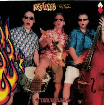 "Restless / The Rizlaz - Restless Versus The Rizlaz (12"" E.P.) - Neo-Rockabilly 2002 VG+/EX"